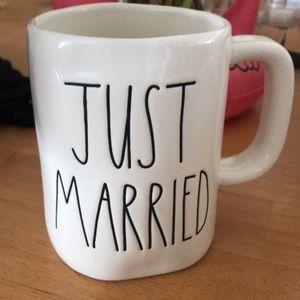 Just Married Rae Dunn Mug